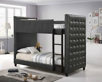 Grey Twin/Twin Bunk Bed. Hollywood, 33020