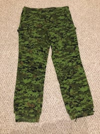 Green and black camouflage pants. Size 42 Edmonton, T5G 3E8