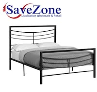 New in box- Monarch Specialties Black Bed Frame Fu Mississauga