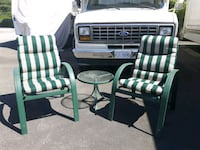 2 Matching Patio Chairs & Table  Langley, V3A 0C9