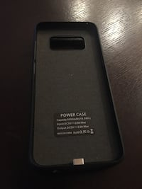 Power case for Samsung phone S8