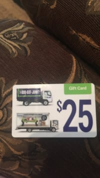 got junk gift card Whitby, L1P 1X6