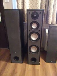 black and gray home theater system Federal Way, 98003