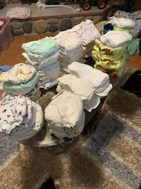 56 cloth diapers etc Spruce Grove, T7X 1B6
