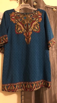 Blue and paisley boutique dress  Pooler, 31322