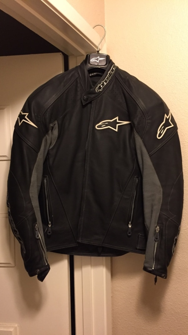 Alpinestars Motorcycle Jacket >> Petaluma Icinde Ikinci El Satilik Black Leather Alpinestars