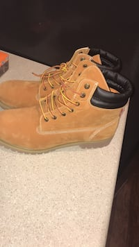 Brand new boots, never worn. It will be in the box. Size 13 Burlington, 01803
