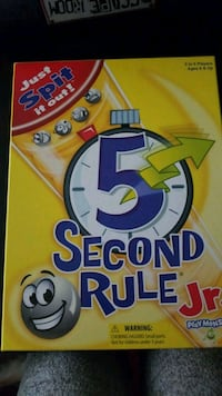 5 Second Rule Board Game Joint Base Lewis-McChord, 98433