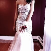 White prom dress Worcester, 01606
