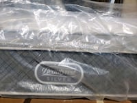King mattress 400$  luxury pocket coil. Delivery 5