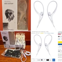 Sony MDR-AS410AP/W Stereo Headset Headphones Sports Active Running NEW Pascoag, 02830