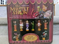 Rare Sealed The Muppet Show 3D Chess Set Vaughan, L6A 2M9