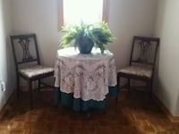 Antique Bistro table and chairs