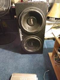 black and gray subwoofer speaker West Sacramento, 95691