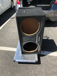 "Subwoofer box for 12"" Reno, 89512"