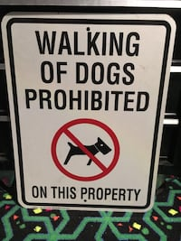 CURB YOUR DOG SIGN! REAL OUTDOOR SIGN NOT REPRODUCTION!MAN CAVE GAME ROOM HOLIDAY GIFT Havertown, 19083