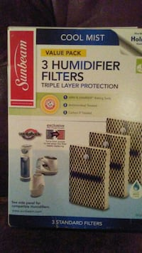 NEW 3 Humidifier filters IN BOX Maple Grove