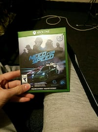 Need for Speed Xbox One game case