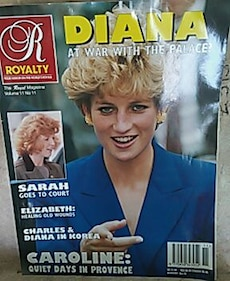 Royalty Princess Diana magazine