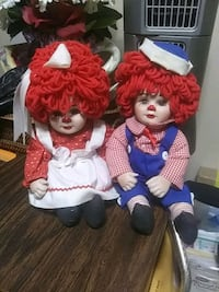 Raggedy Ann and Andy Collectable Dolls Alexandria, 22306