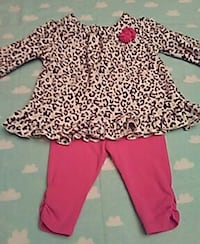 Animal Print Baby Outfit 0-3 months Modesto, 95356
