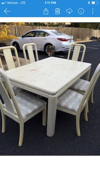 Shabby chic dining table & chairs! Herndon, 20170