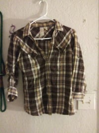 Girlie flanel shirt Norfolk, 23505