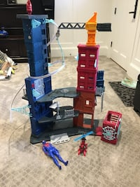 Spider-Man tower. Paid $130 new. Great shape. Gently used Langley, V1M 2H6