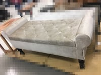 Bed bench with inside storage - NEW - never used - Velvety Stafford, 22554