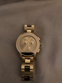 Movado Bold yellow gold very nice watch
