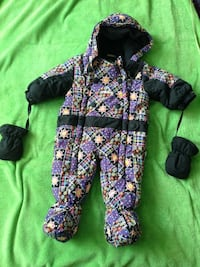 Snowsuit 9 months . Xtreem gusti. Very good condition Mississauga, L5B 4A1