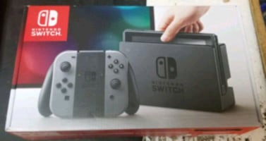 Nintendo switch bundle like new gray