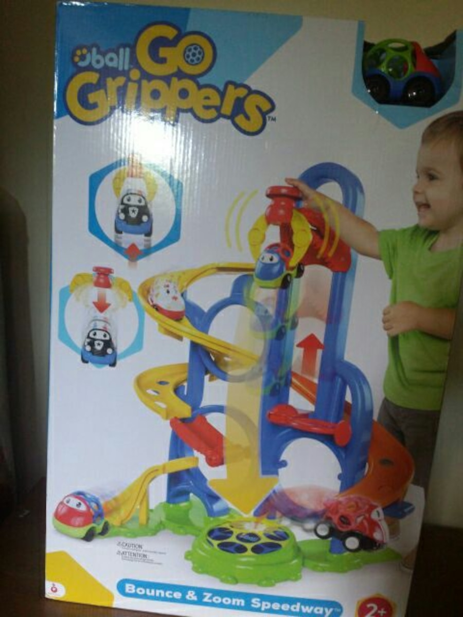 Ball Goo Grippers bounce and Zoom speedway box