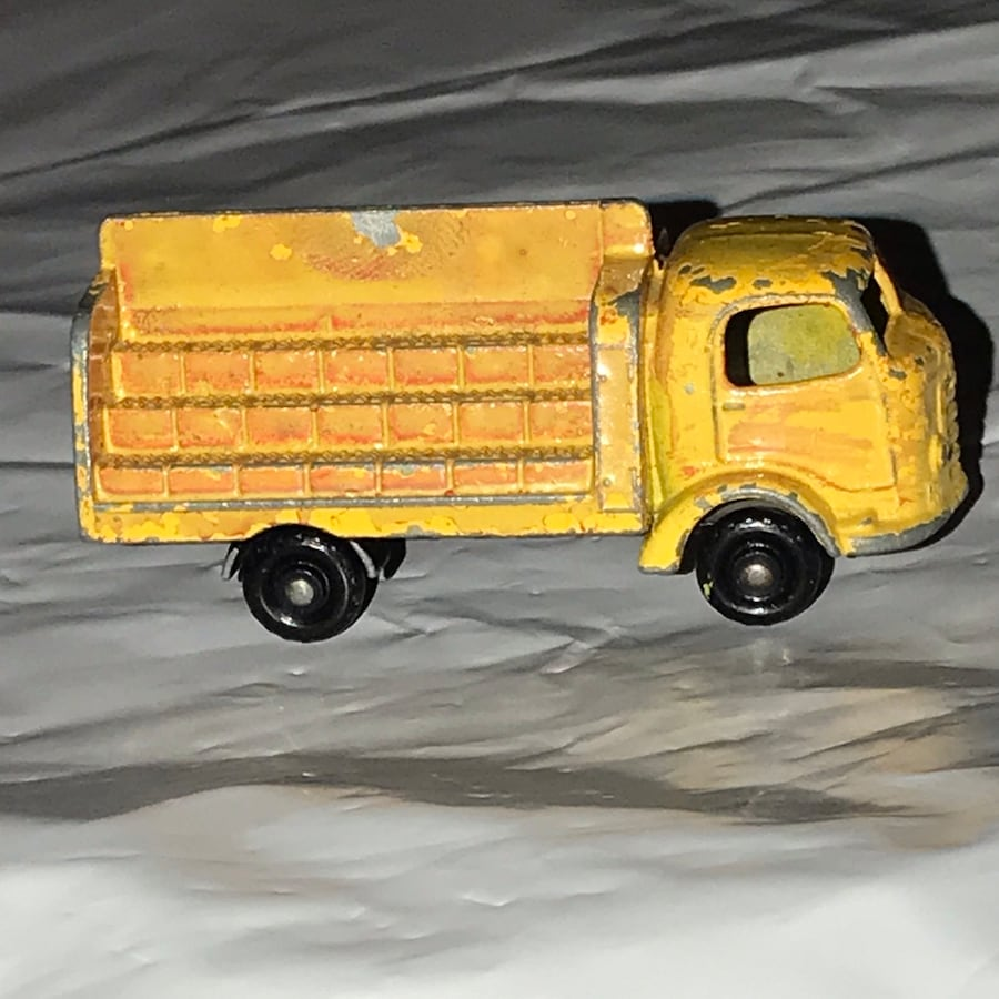 Vintage 1956 MatchBox Lesney CocaCola Delivery Truck  karrier