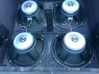 12inch speakers 16 ohm  200 for all or 75 a piece  Kennewick, 99336