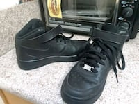 pair of black Nike Air Force 1 low shoes 2244 mi