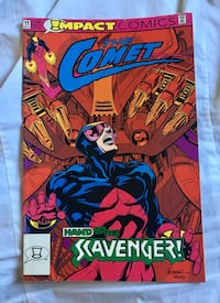 Impact Comics The Comet Hand of the Scavenger comic book