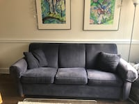 gray fabric 3-seat sofa Washington, 20001