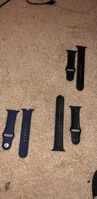 black and midnight blue iWatch bands. 42 MM. Herndon, 20171