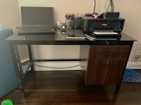 Desk with drawers and chair Somerville, 02143