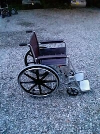 black and gray wheelchair with stand Richmond, 23234