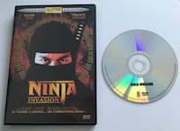 Ninja invasion dvd avec david web et franck notaro Arras, 62000