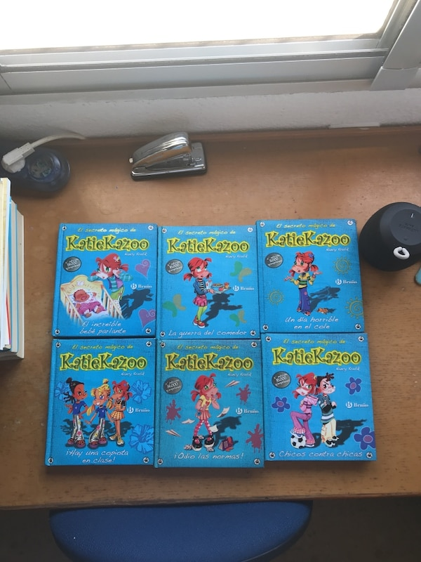 Pack 6 libros .