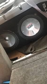 Subs amp and tv deck Toronto, M6M 1R8