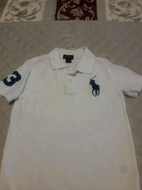 white Ralph Lauren polo shirt Bowie, 20716