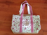 White and pink floral tote bag Sterling, 01564