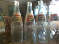 4 old pepsi glass bottles Hagerstown, 21740