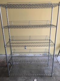 gray metal 3-layer rack 550 km