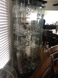 Glass cabinet with China Los Angeles, 90047
