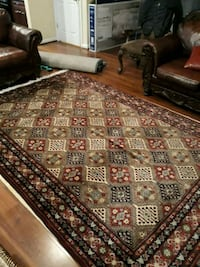 brown and white area rug Gainesville